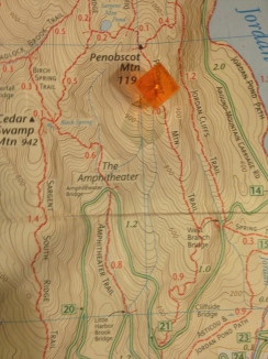 Map, north