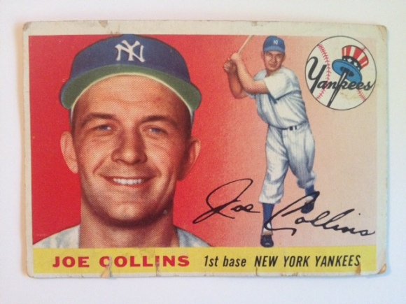 The '62 Card for the Yankee First Baseman, Joe Collins